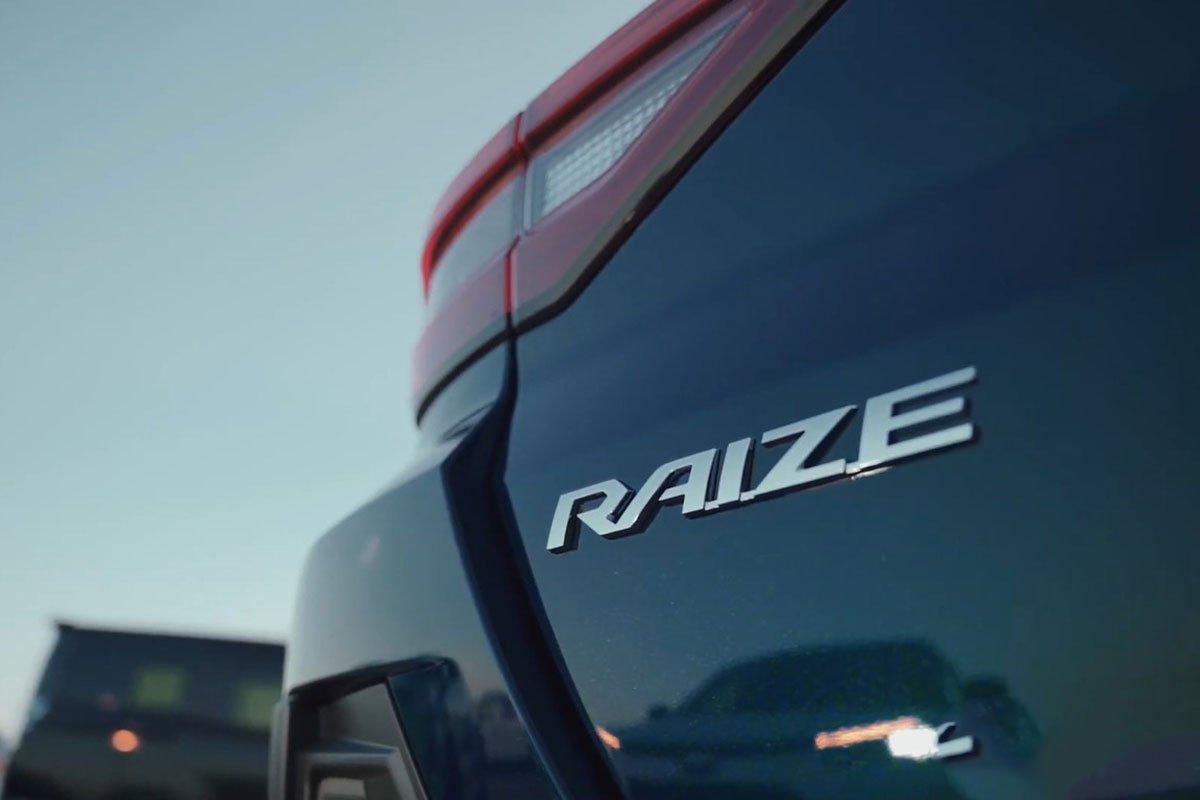 Ảnh Tên xe Toyota Raize 2021