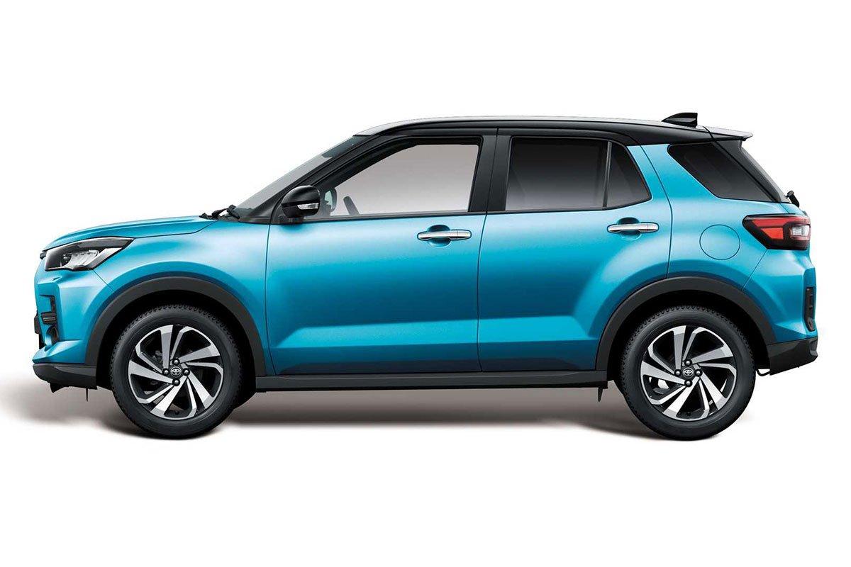 Ảnh Thân xe Toyota Raize 2021