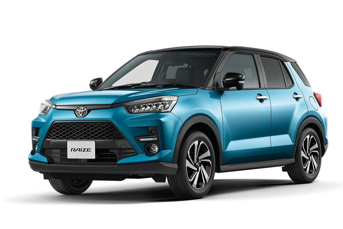 Ảnh Tổng quát xe Toyota Raize 2021