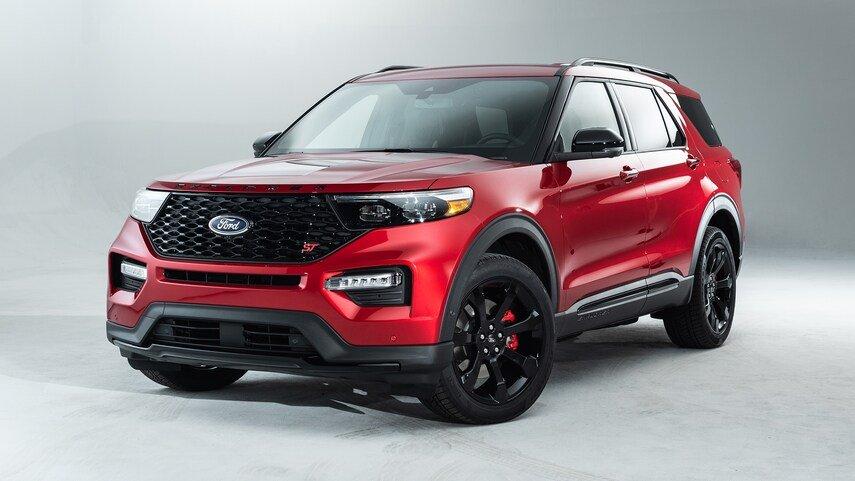 Ford Explorer 2021 Enthusiast ST về cơ bản vẫn là 1 chiếc ST nhưng có giá phải chăng hơn.