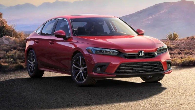 Honda Civic 2022 sedan chính thức nhá hàng