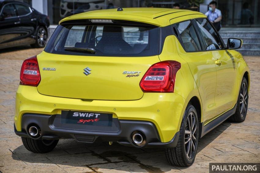 Suzuki Swift Sport 2021 tăng cường độ cứng và độ ổn định.