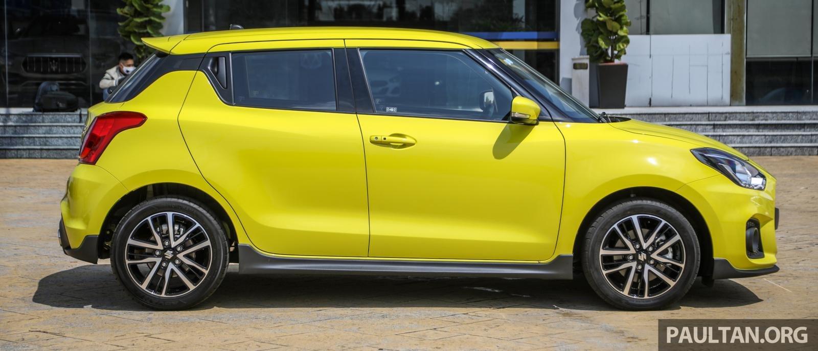 Suzuki Swift Sport 2021 cập nhật mới được cải tiến sức mạnh.