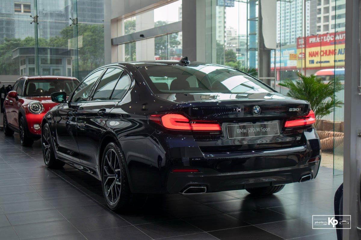 Ảnh Đuôi xe BMW 5-Series 2021