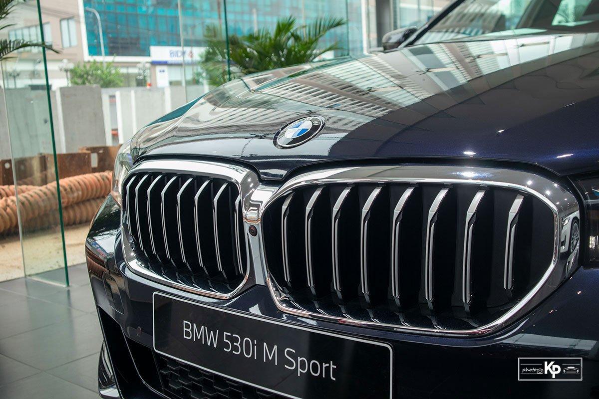 Ảnh Lưới tản nhiệt xe BMW 5-Series 2021