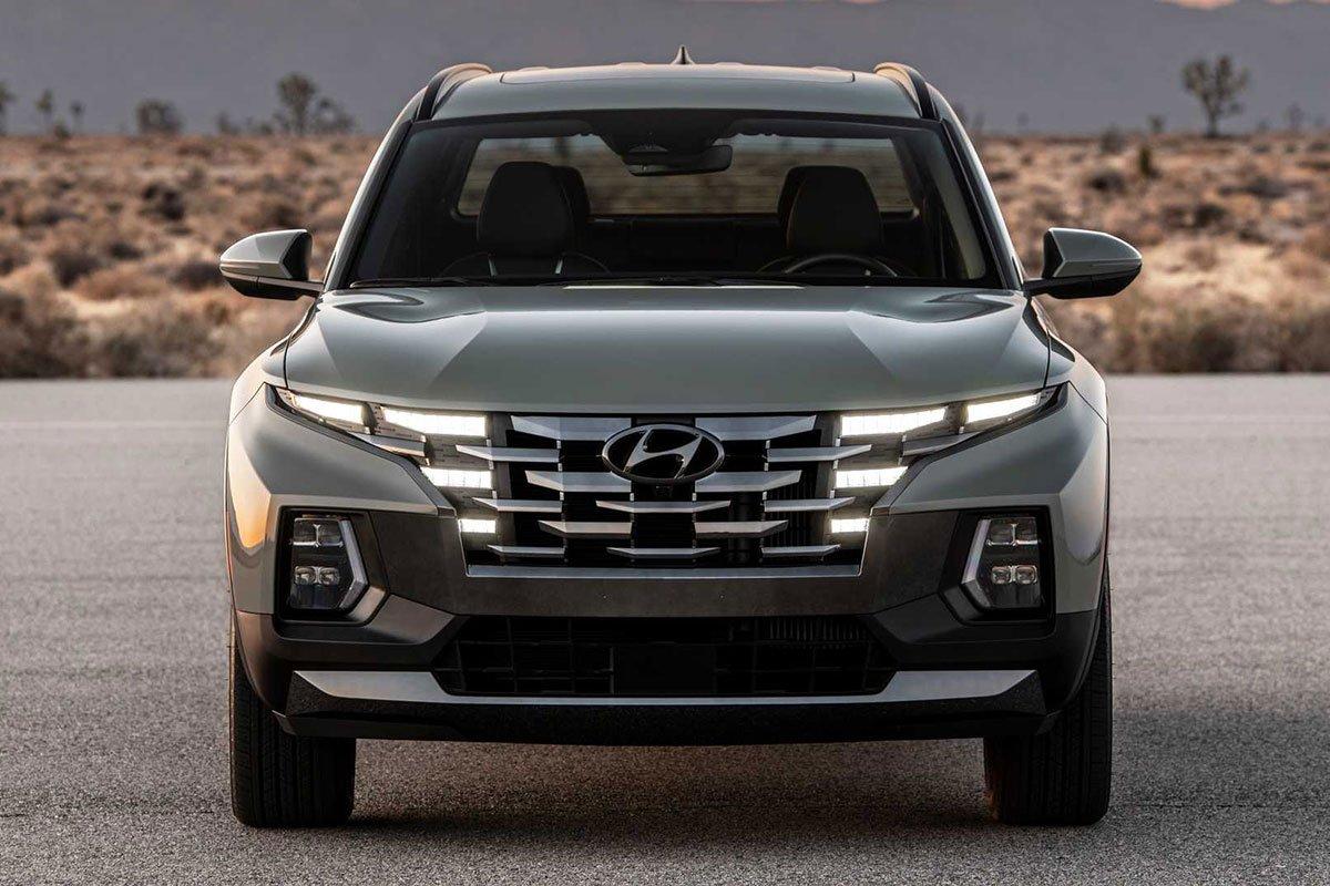 Ảnh Đầu xe Hyundai Santa Cruz 2022