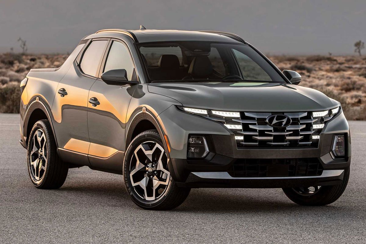 Ảnh Giới thiệu Hyundai Santa Cruz 2022