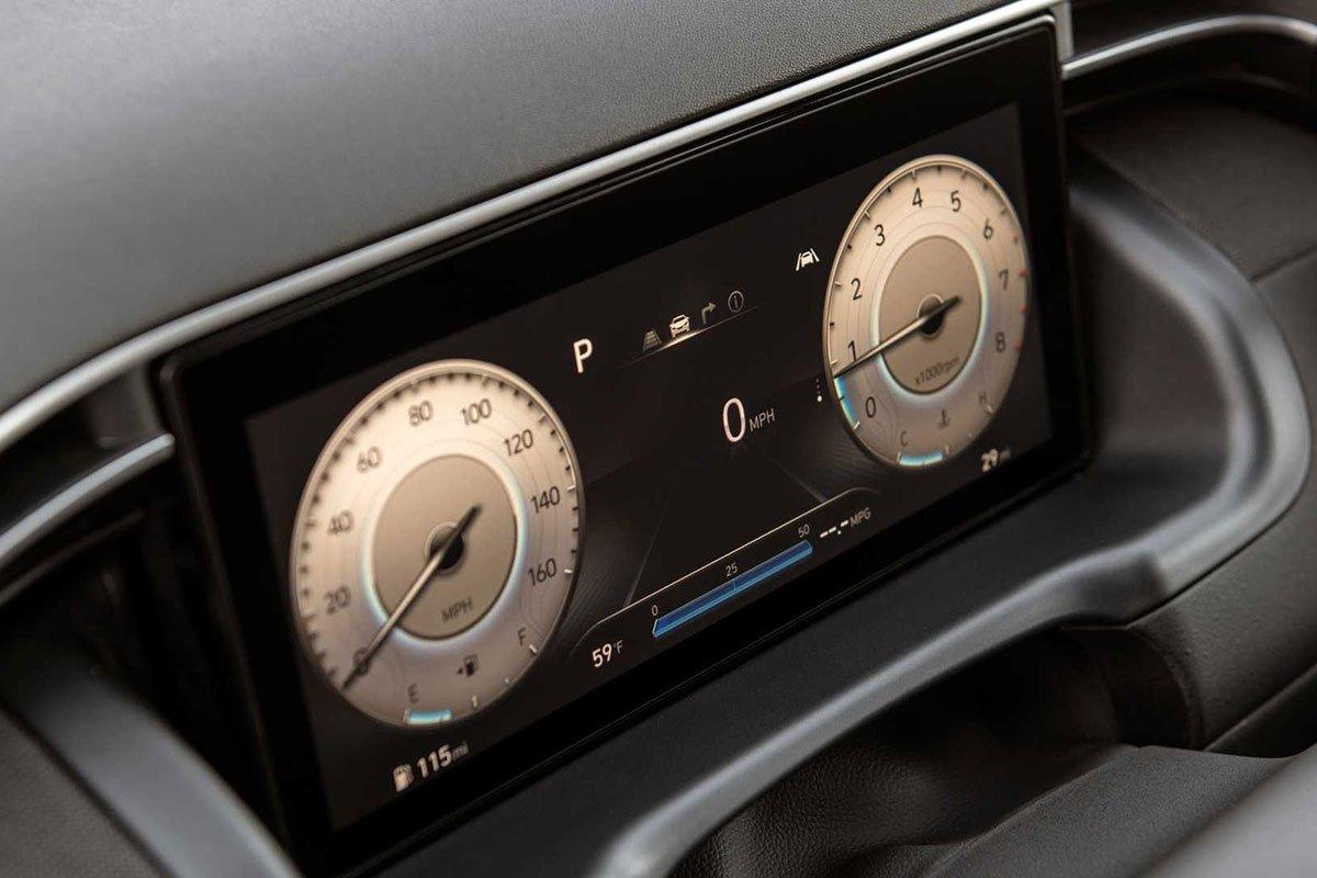 Ảnh Đồng hồ xe Hyundai Santa Cruz 2022