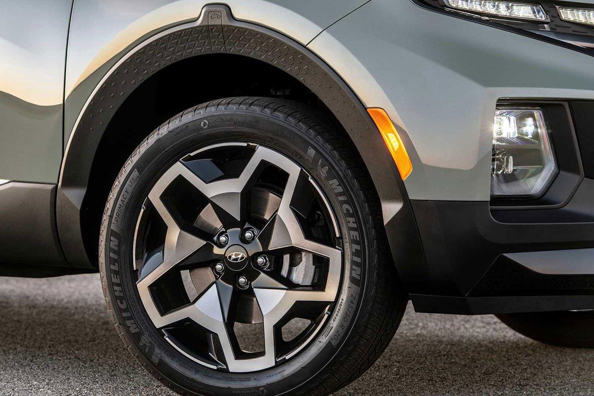 Ảnh La-zăng xe Hyundai Santa Cruz 2022