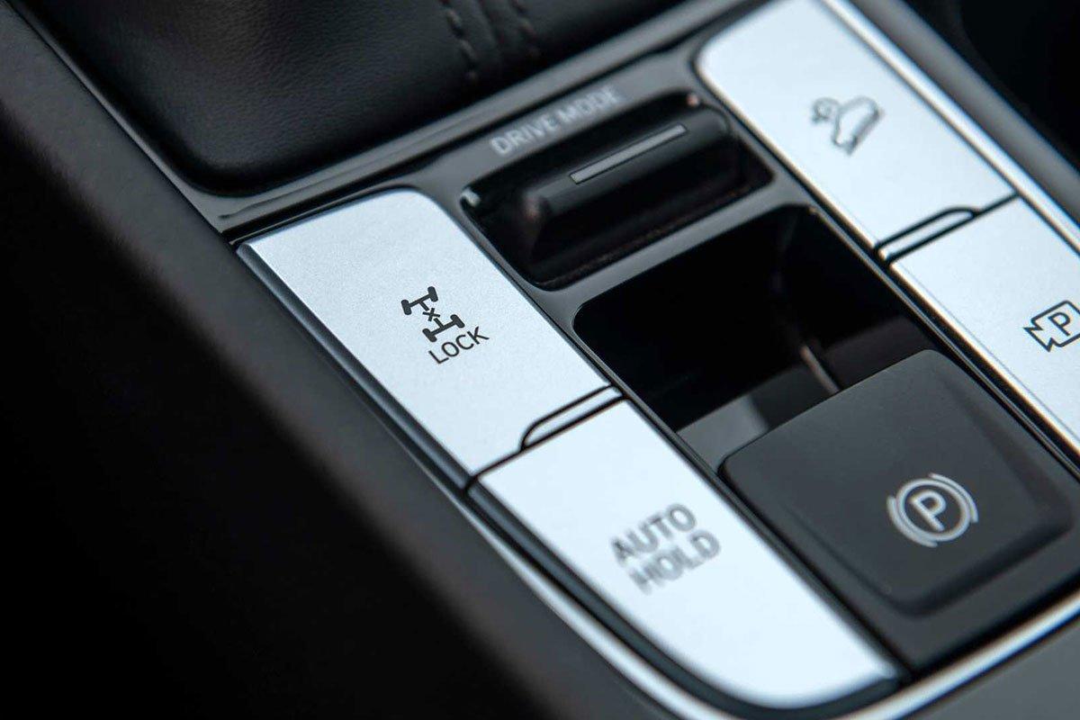 Ảnh Tiện nghi xe Hyundai Santa Cruz 2022