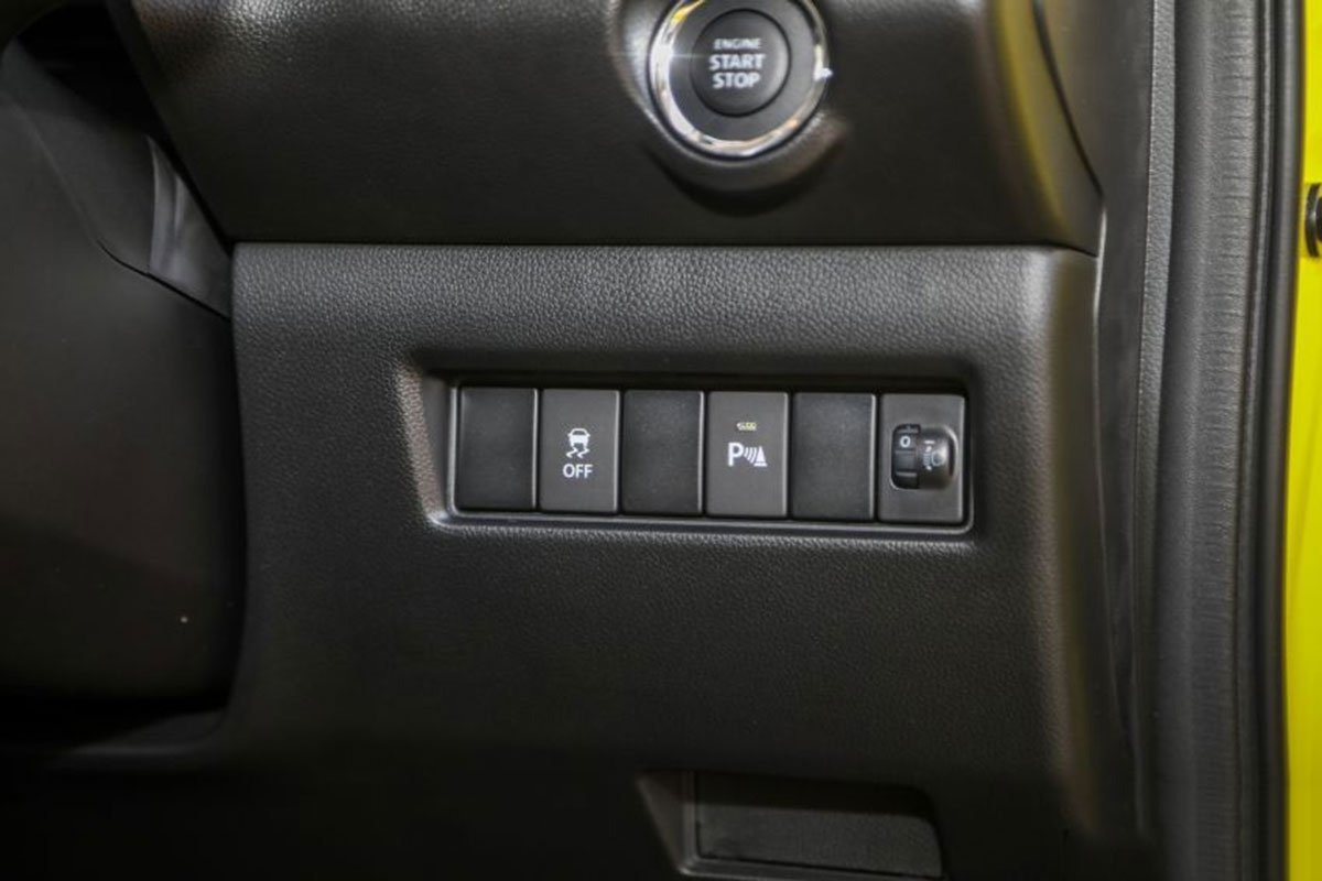 Ảnh An toàn xe Suzuki Swift 2021