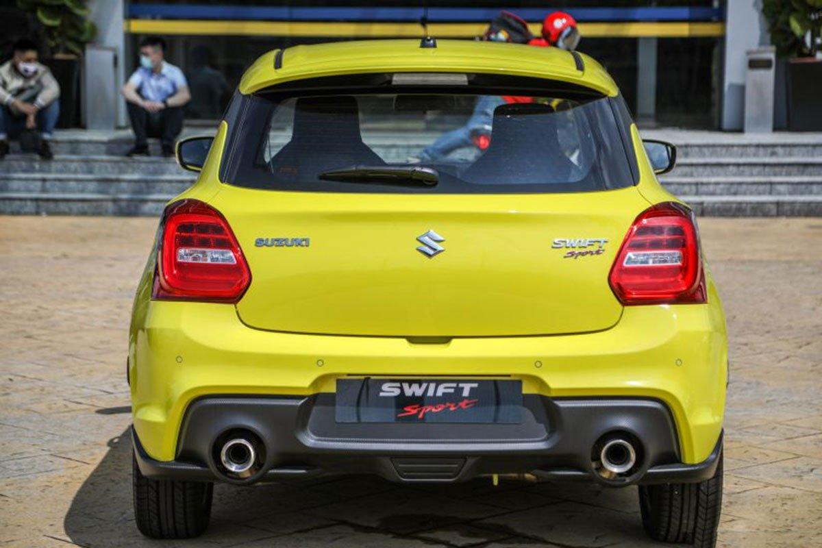 Ảnh Đuôi xe Suzuki Swift 2021