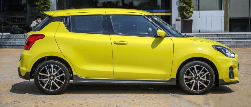 Ảnh Thân xe Suzuki Swift 2021