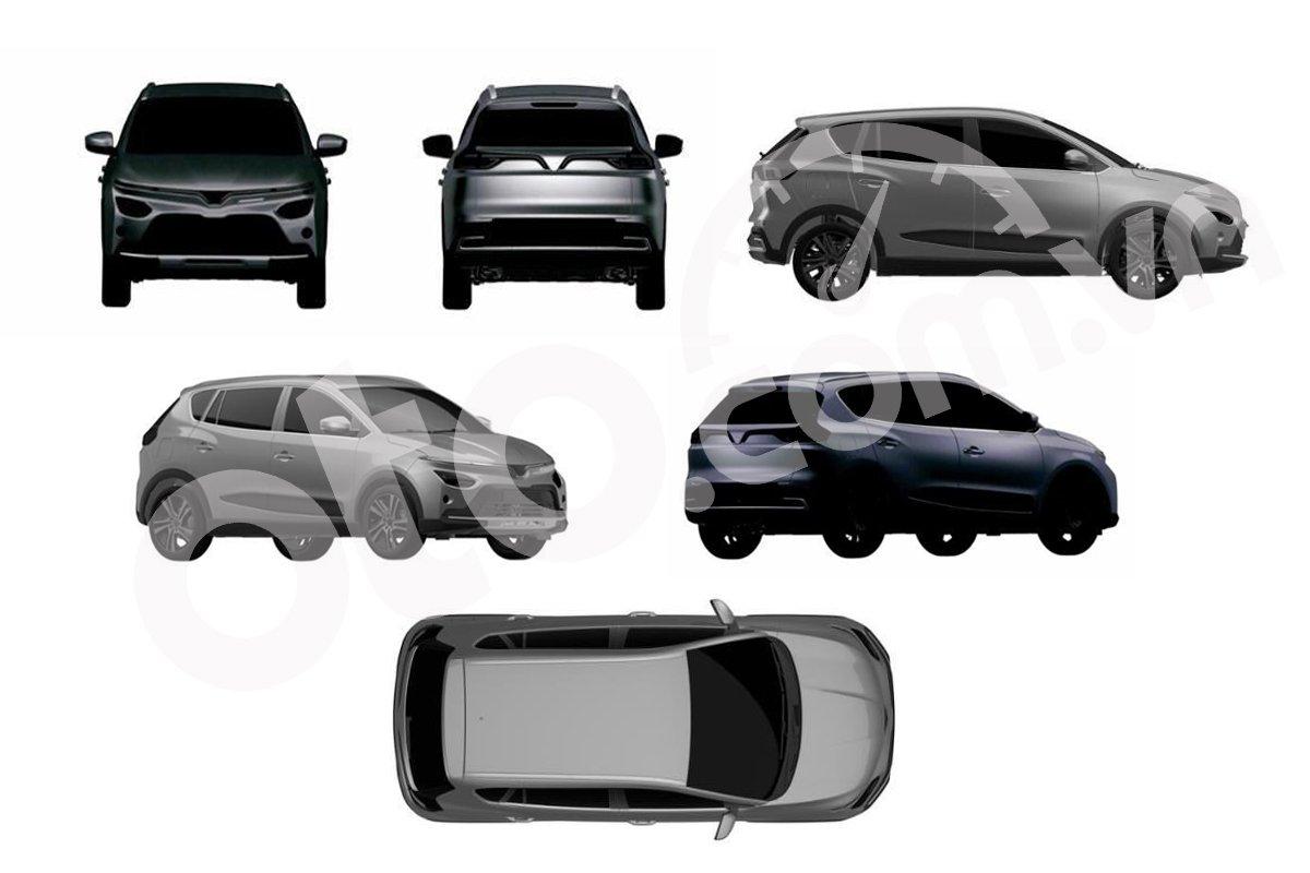 Hé lộ hai mẫu xe mới nhất VinFast nộp đơn xin bảo hộ trí tuệ công bố năm 2021 - Ảnh 3.