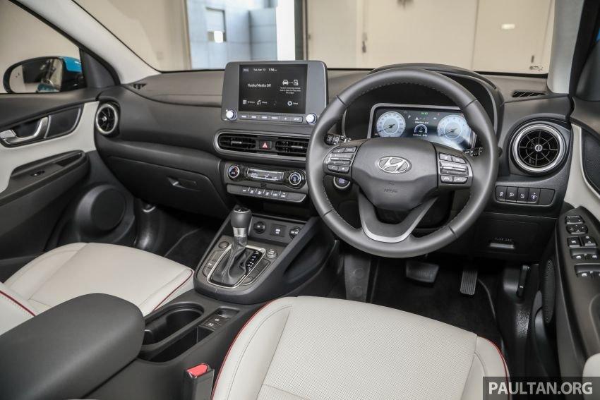 Hyundai Kona 2021 tích hợp trang bị, tính năng hiện đại.