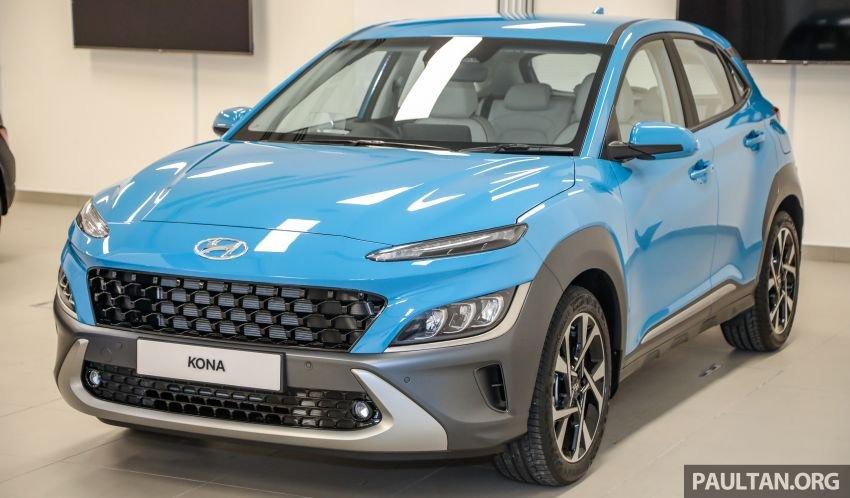 Hyundai Kona 2021 thế hệ mới thay đổi toàn diện.