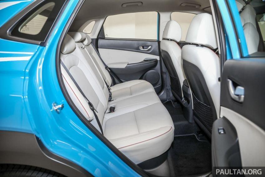 Hyundai Kona 2021 đặt sự thoải mái và an toàn của người dùng làm tiêu chí hàng đầu.