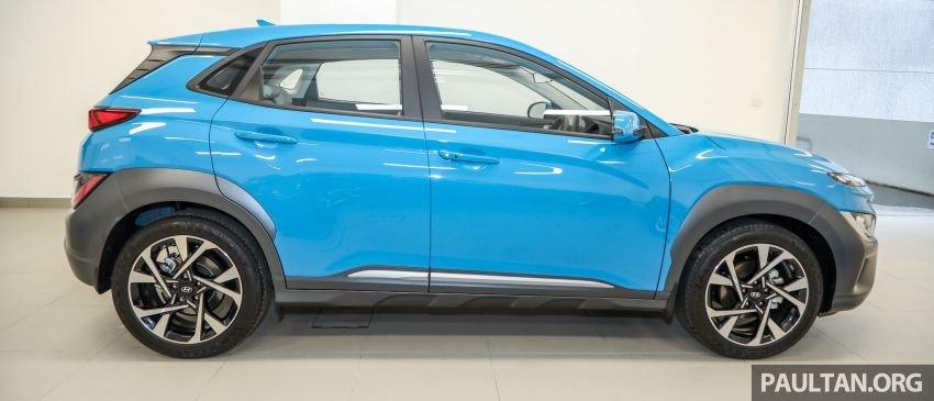 Hyundai Kona 2021 hấp dẫn hơn nữa.