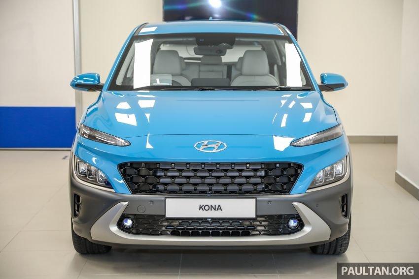 Hyundai Kona 2021 đời mới tại Malaysia.