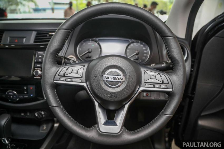 Nissan Navara 2021 sở hữu các tính năng đa dụng tiện dùng.