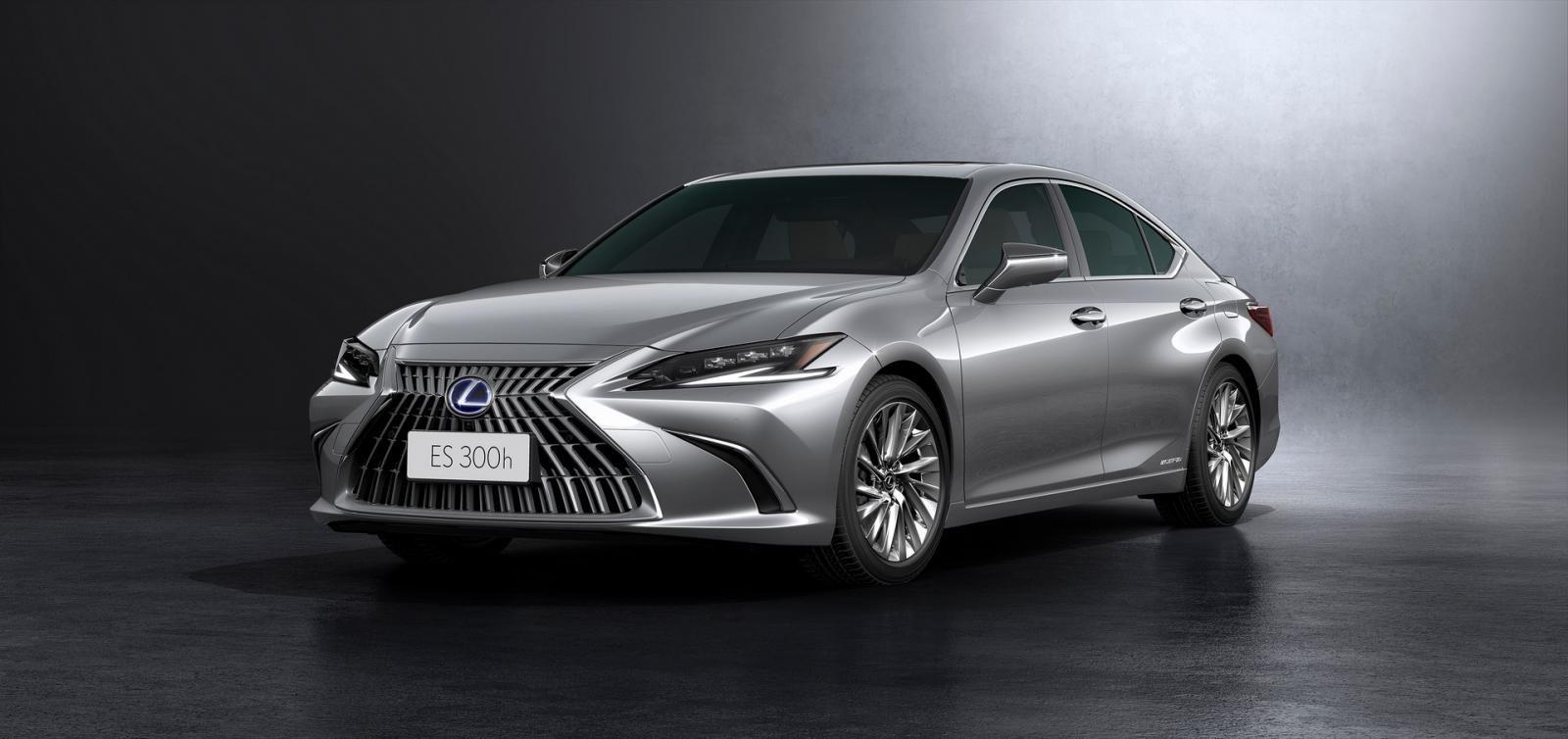 [Auto Shanghai 2021] Lexus ES 2022 facelift trình làng với công nghệ mới.
