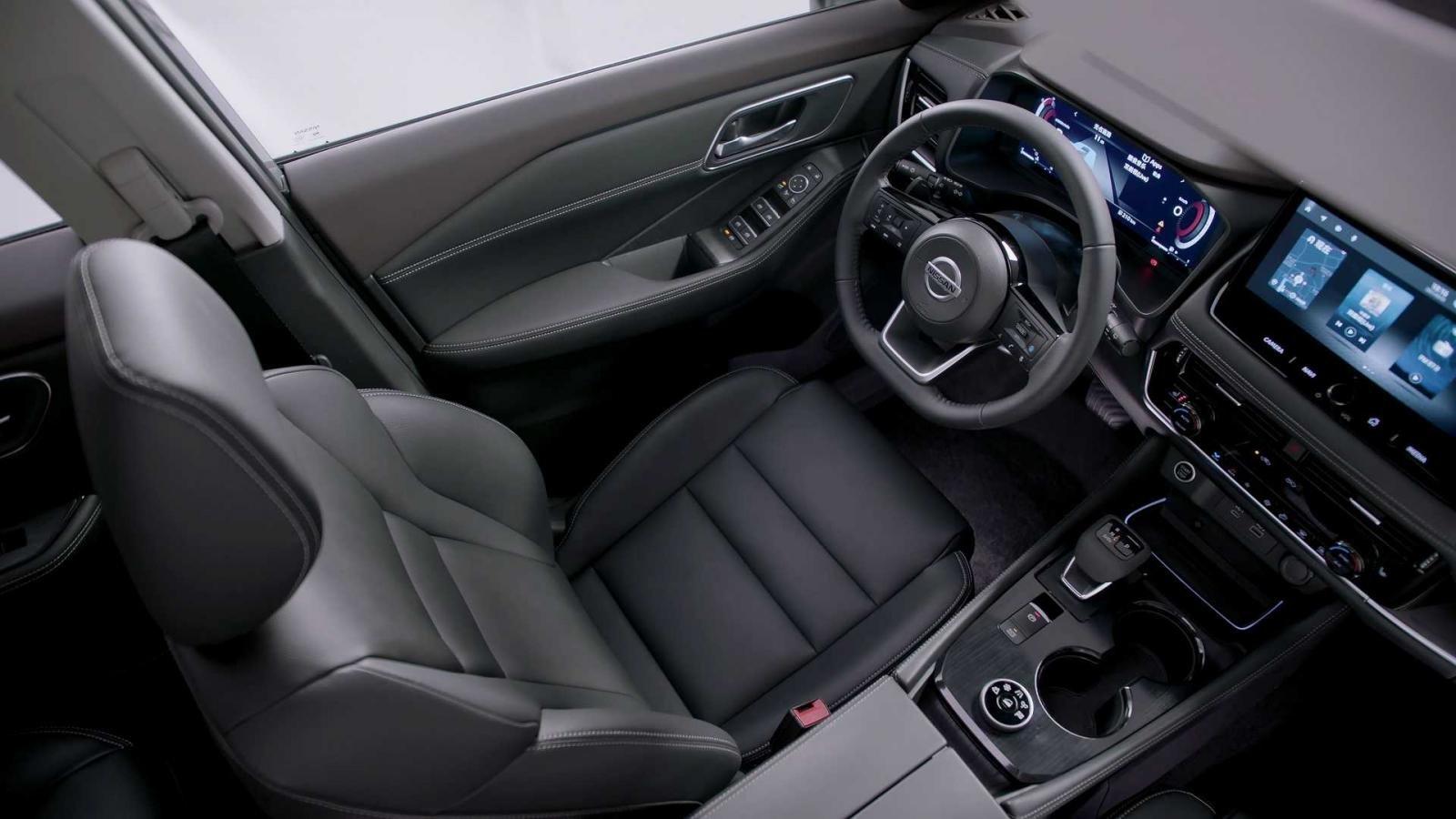 [Auto Shanghai 2021] Nissan X-Trail 2022 mới sở có nội thất đẹp mắt, ấn tượng hơn trước.