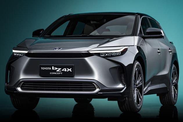 [Auto Shanghai 2021] Toyota bZ4X concept ra mắt với thiết kế giống RAV4.