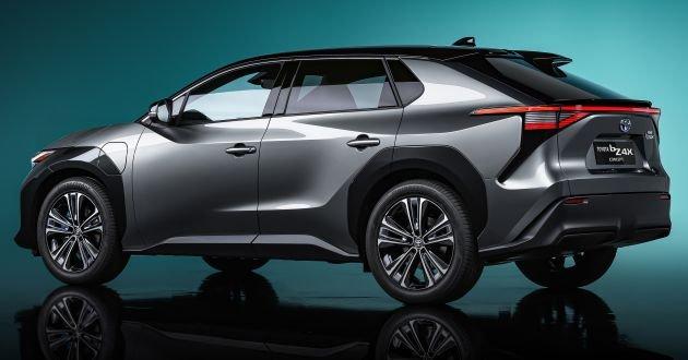 [Auto Shanghai 2021] Toyota bZ4X concept được trang trí sắc nét.
