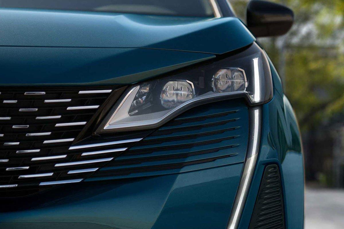 Ảnh Đèn pha xe Peugeot 5008 2021