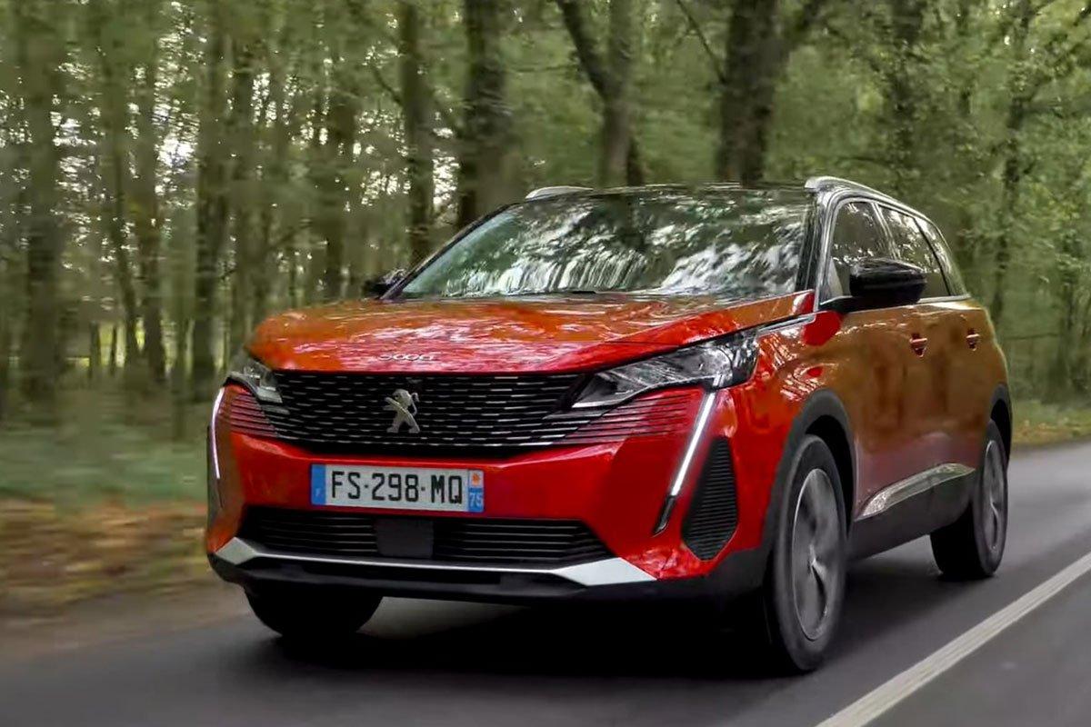 Ảnh giới thiệu Peugeot 5008 2021