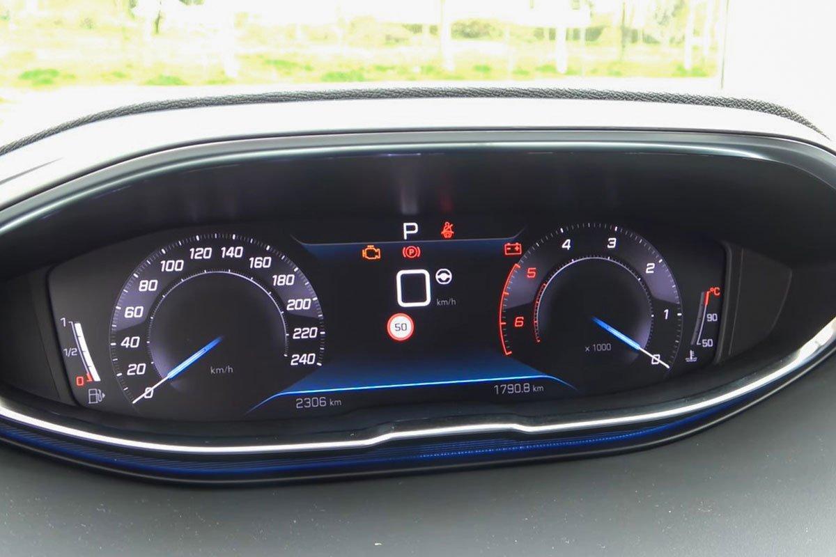 Ảnh Đồng hồ xe Peugeot 5008 2021