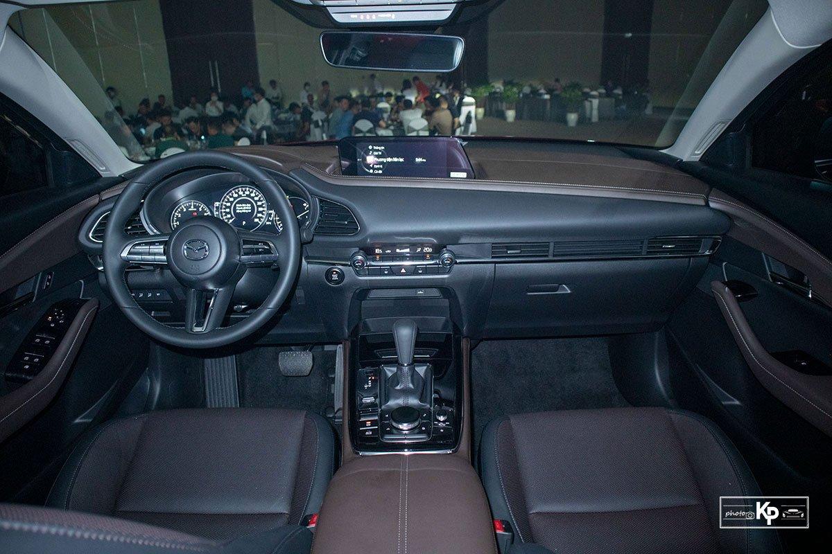 Cận cảnh Mazda CX-30 Luxury 2021 vừa ra mắt tại Việt Nam, đối thủ của Kia Seltos, Corolla Cross a6