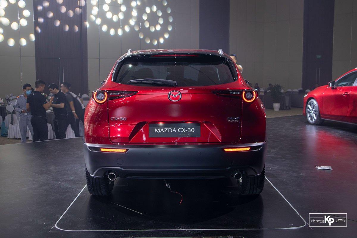 Cận cảnh Mazda CX-30 Luxury 2021 vừa ra mắt tại Việt Nam, đối thủ của Kia Seltos, Corolla Cross a4