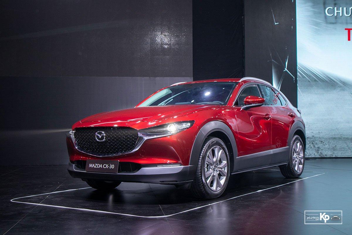 Cận cảnh Mazda CX-30 Luxury 2021 vừa ra mắt tại Việt Nam, đối thủ của Kia Seltos, Corolla Cross a1