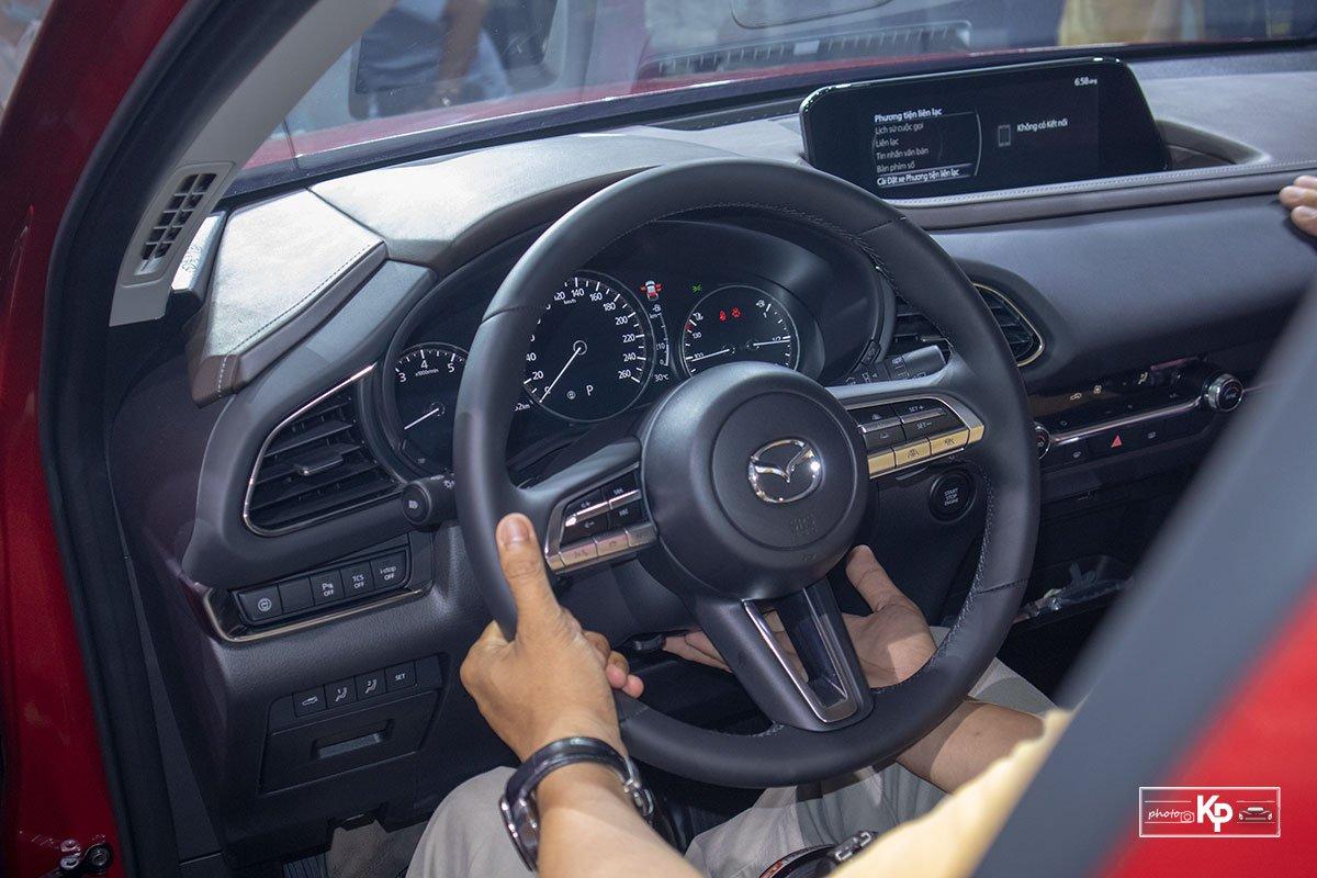Khoang nội thất của Mazda CX-30 có thiết kế sang trọng, thời thượng 1
