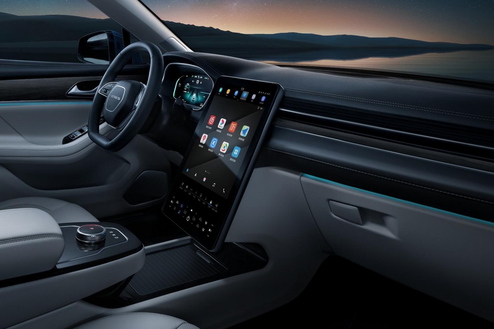Huawei giới thiệu chiếc xe điện đầu tiên - Ảnh 5.
