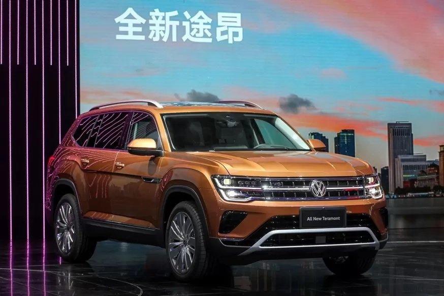 Volkswagen Teramont đời mới hấp dẫn hơn.