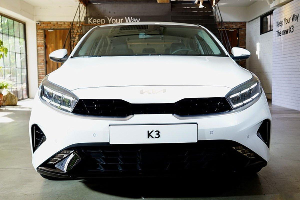 Ảnh Đầu xe xe Kia Cerato 2022