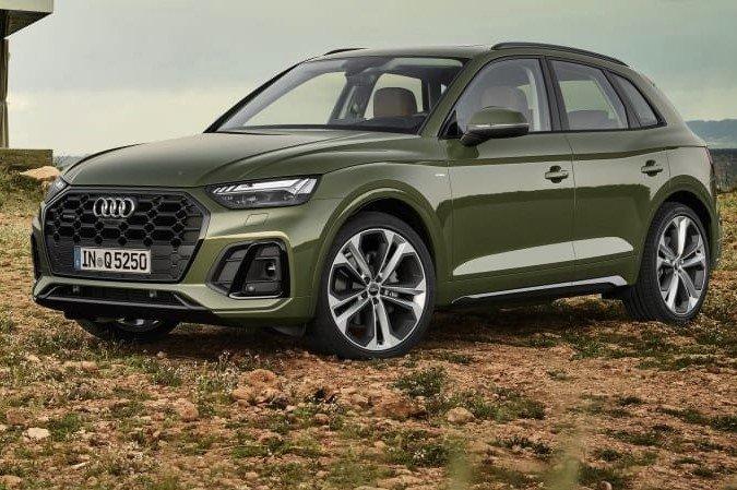 Audi Q5 2021 thực chất là phiên bản nâng cấp giữa vòng đời(facelift). 1