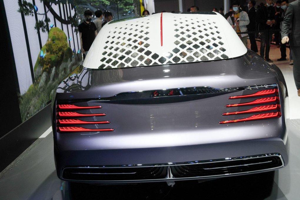 Hongqi L-Concept - Xe Limo Trung Quốc có đèn chùm và không vô lăng - Ảnh 3.