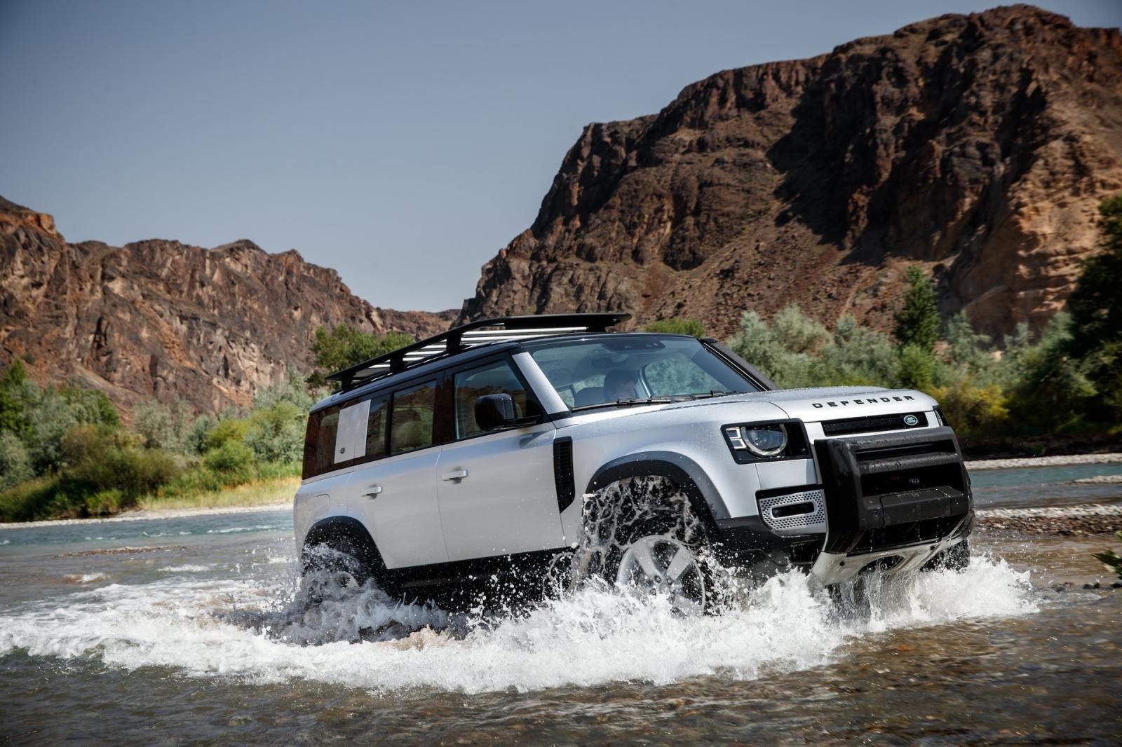 Land Rover Defender 2021 giành giải mẫu xe thiết kế đẹp nhất năm.