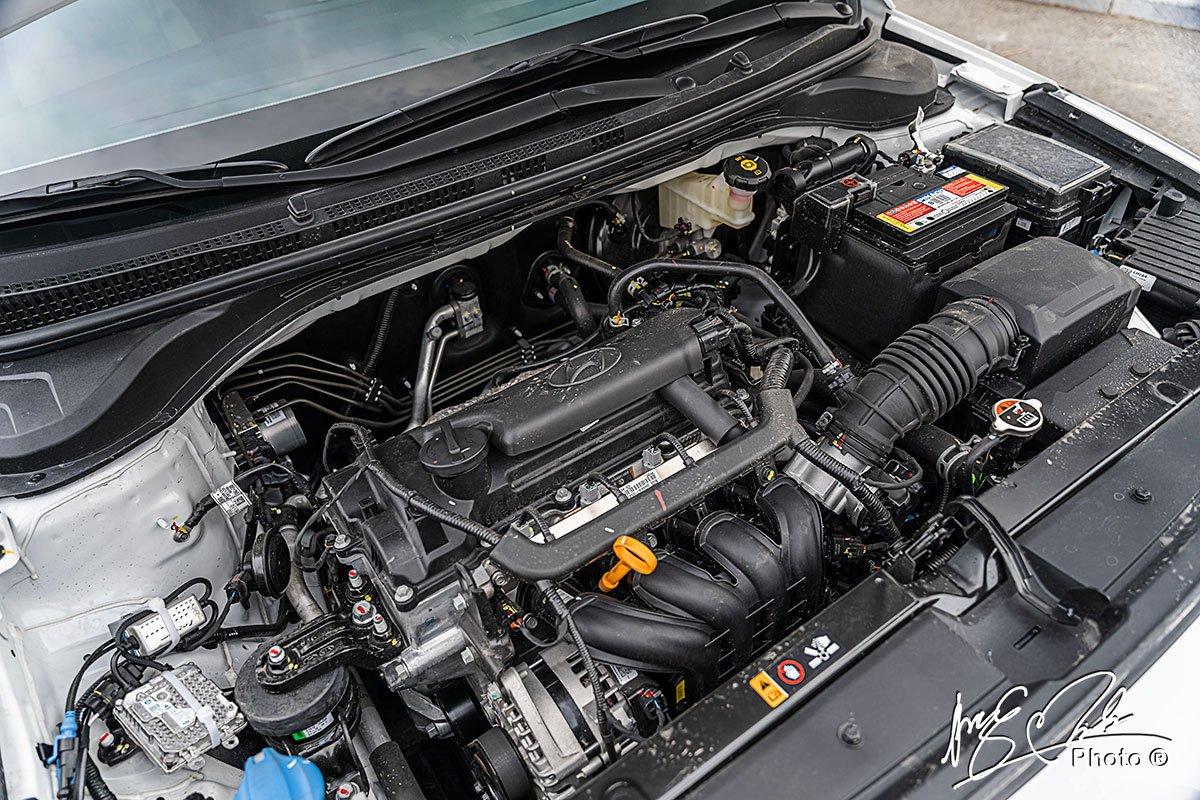 Động cơ của Hyundai Accent 2021.