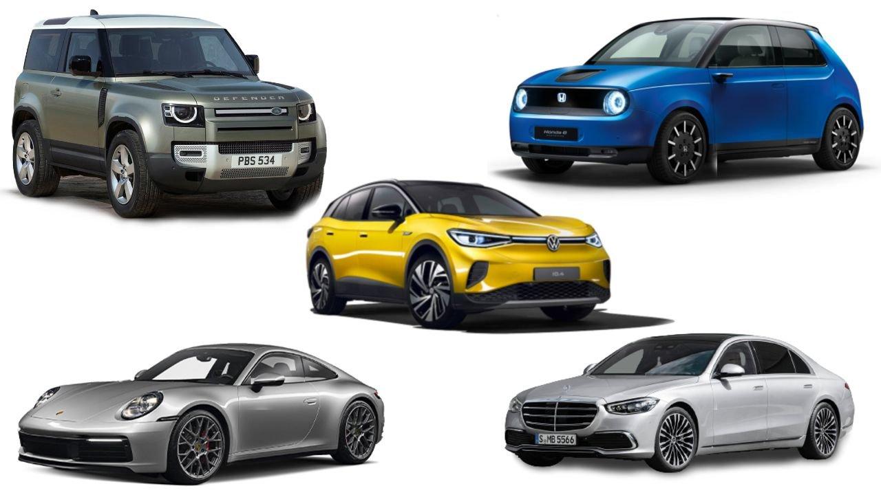 Volkswagen ID.4, Land Rover Defender, Honda E, Porsche 911 và Mercedes-Benz S-Class giành giải xe của năm.