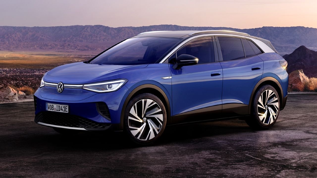 Volkswagen ID.4 giành giải xe thế giới của năm 2021.