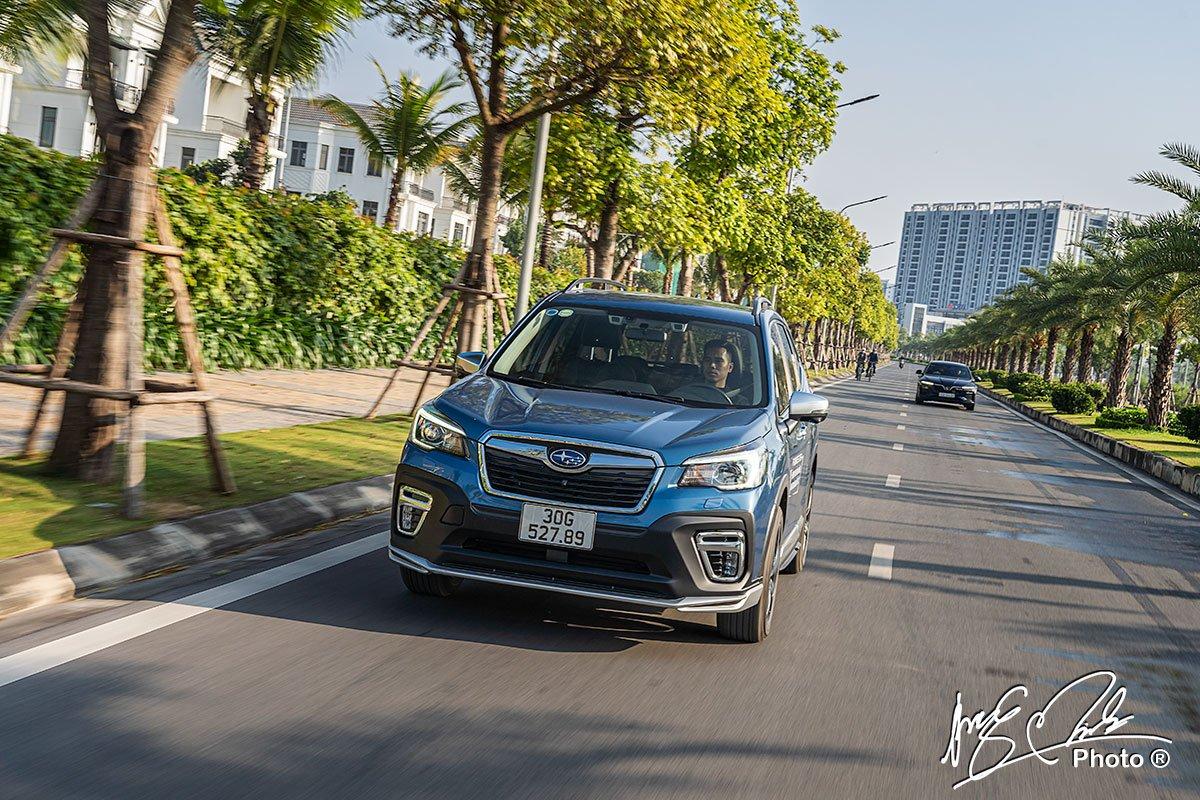 Ưu nhược điểm xe Subaru Forester 2021 a9