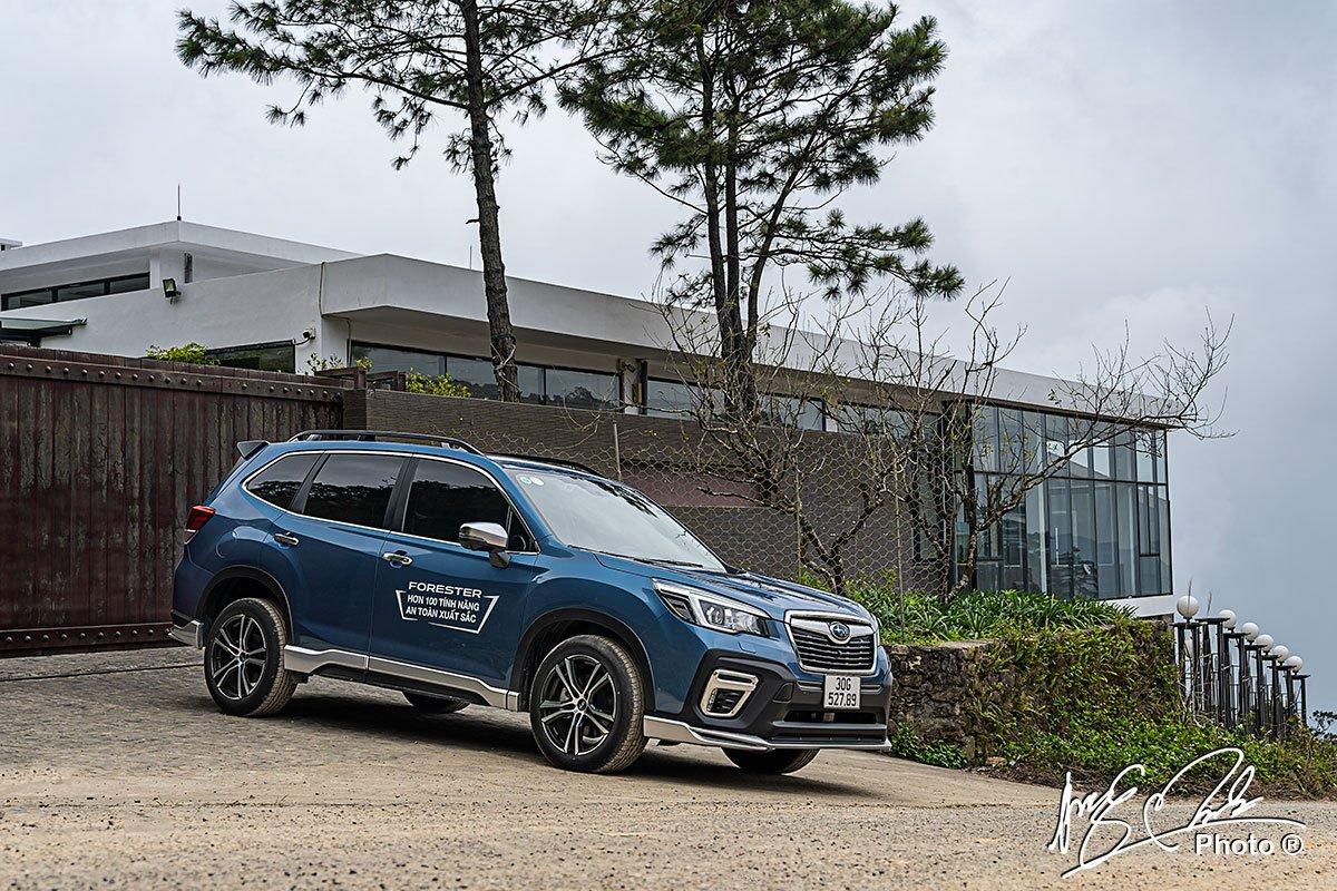 Ưu nhược điểm xe Subaru Forester 2021 a1