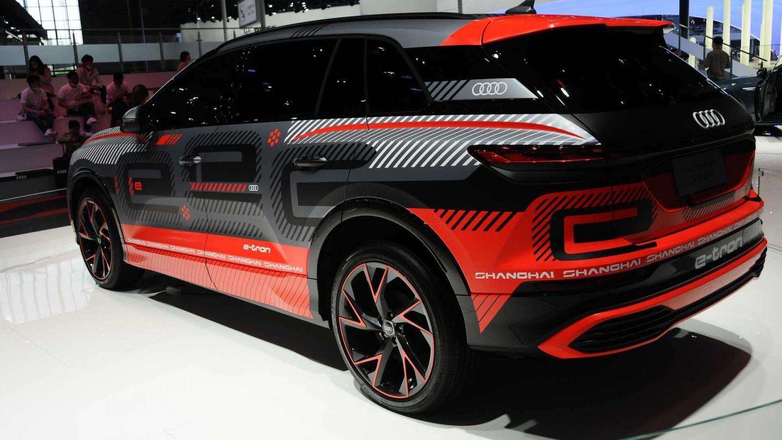 SUV Audi chạy điện mới được cho là có tầm vận hành không thua các đối thủ khác.