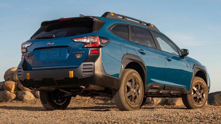 Subaru Outback 2022 sẽ là lựa chọn xứng đáng cho khách hàng có nhu cầu về off-road.