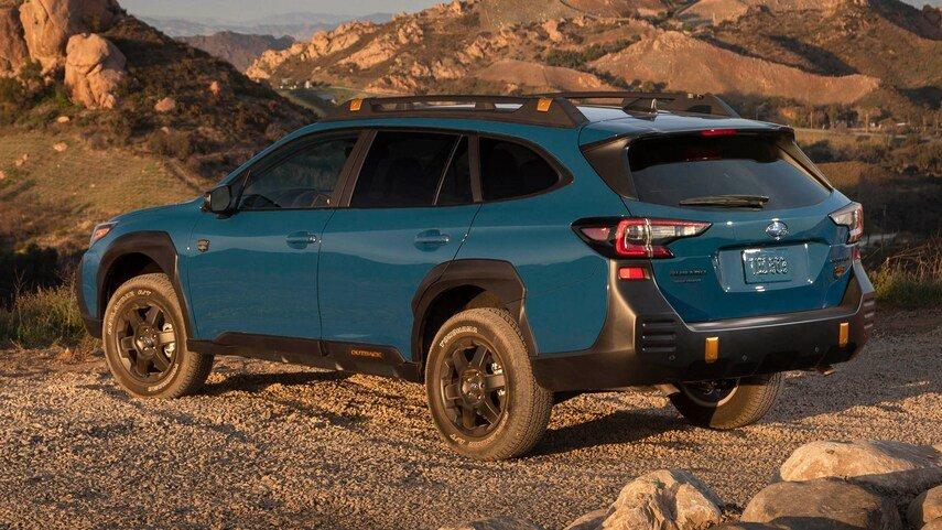 Subaru Outback 2022 hiện đại và tiện dùng hơn nữa.