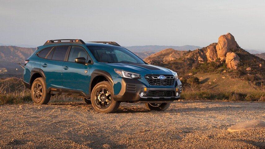 Subaru Outback 2022 báo giá khởi điểm từ 642 triệu đồng